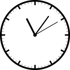 时钟最终结果